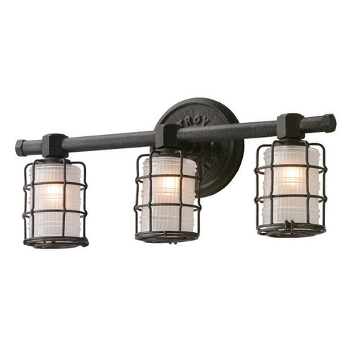 Troy Lighting Troy Lighting Mercantile Vintage Bronze Bathroom Light B3843