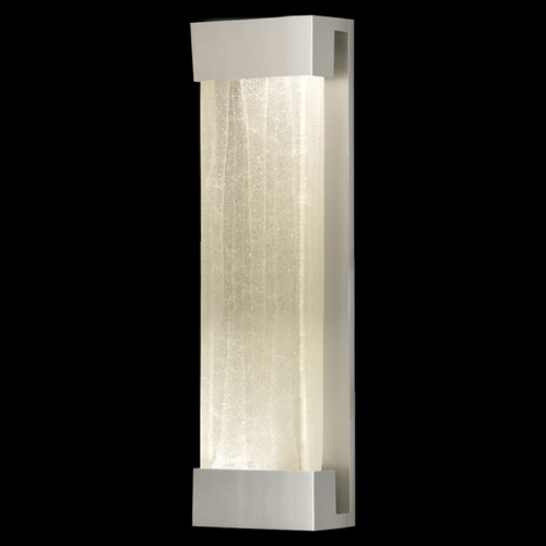 Fine Art Lamps Fine Art Lamps Crystal Bakehouse Silver Sconce 811050-23ST
