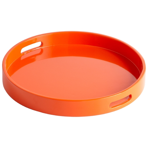 Cyan Design Cyan Design Estelle Orange Lacquer Tray 05504