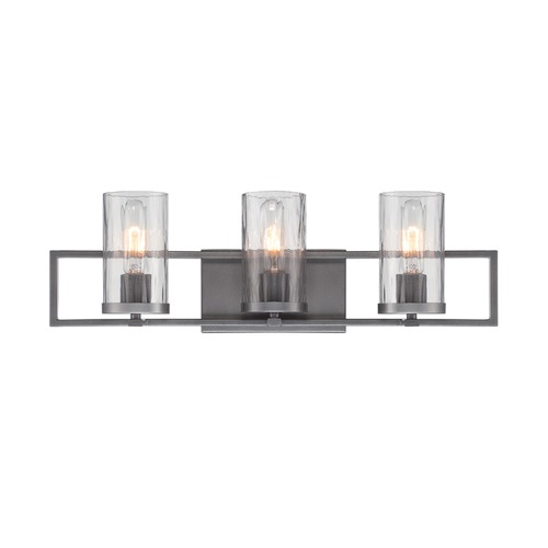 Designers Fountain Lighting Designers Fountain Elements Charcoal Bathroom Light 86503-CHA