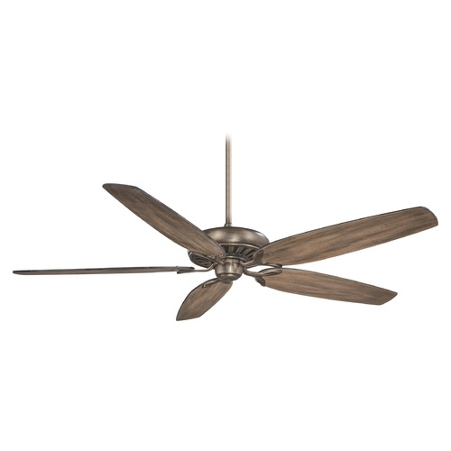 Minka Aire 72-Inch Minka Aire Great Room Traditional Heirloom Bronze Ceiling Fan Without Light F539-HBZ