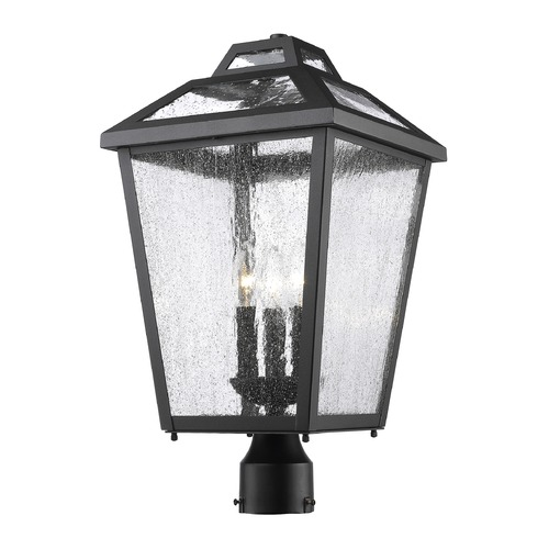 Z-Lite Z-Lite Bayland Black Post Light 539PHBR-BK