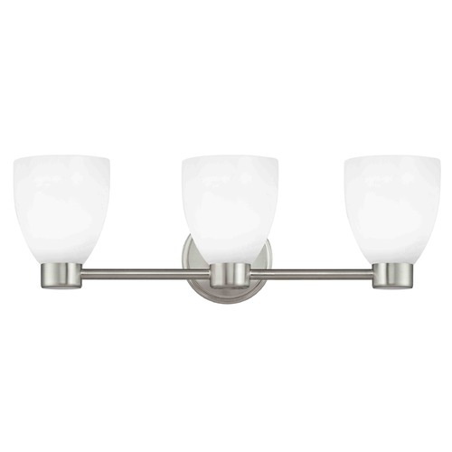 Design Classics Lighting Design Classics Lighting Aon Fuse Satin Nickel Bathroom Light 1803-09 GL1024MB