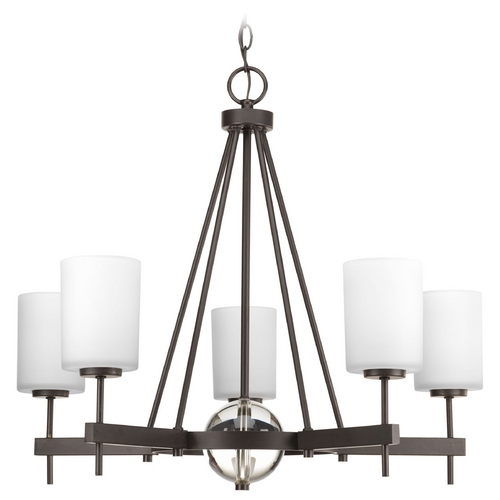 Progress Lighting Progress Lighting Compass Antique Bronze Chandelier P4706-20