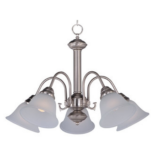 Maxim Lighting Maxim Lighting Malaga Satin Nickel Chandelier 2698FTSN