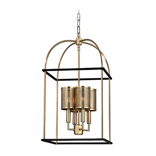 Hudson Valley Lighting Hudson Valley Lighting Vestal Aged Brass Pendant Light 4814-AGB