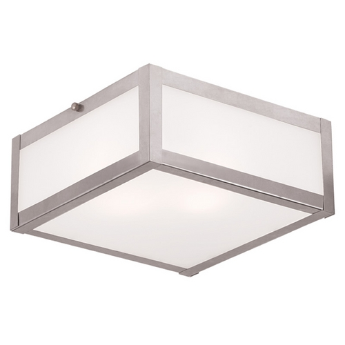 Livex Lighting Livex Lighting Viper Brushed Nickel Flushmount Light 7132-91
