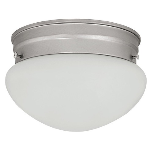 Capital Lighting Capital Lighting Matte Nickel Flushmount Light 5358MN