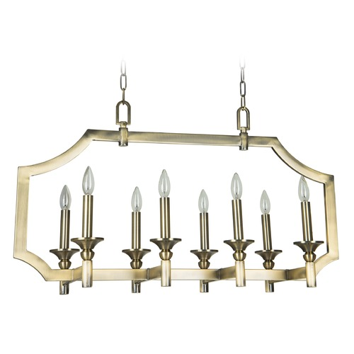 Jeremiah Lighting Jeremiah Lighting Lisbon Legacy Brass Island Light 37378-LB