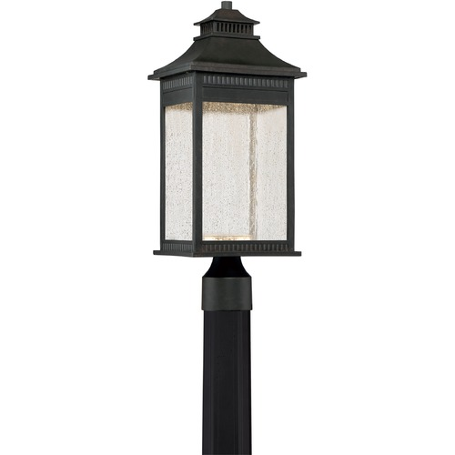 Quoizel Lighting Quoizel Lighting Livingston Imperial Bronze LED Post Light LVN9008IB