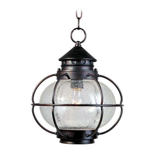 Maxim Lighting Maxim Lighting Portsmouth Oil Rubbed Bronze Outdoor Hanging Light 30506CDOI