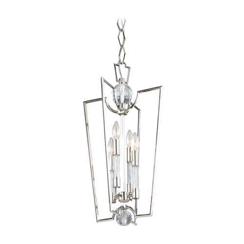 Hudson Valley Lighting Modern Pendant Light in Polished Nickel Finish 3013-PN