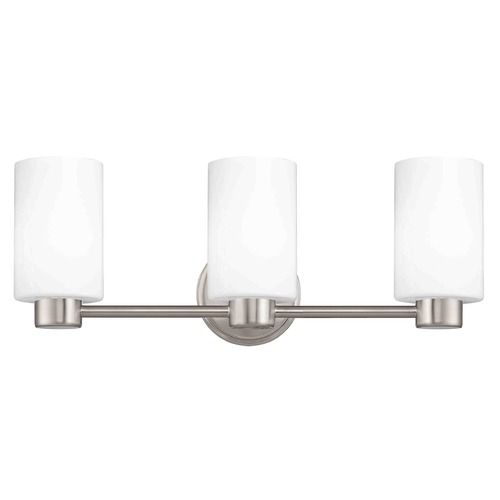 Design Classics Lighting Lighting Aon Fuse Satin Nickel Bathroom Light 1803-09 GL1028C
