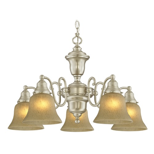 Design Classics Lighting Design Classics Holt Satin Nickel Chandelier 205-09 G9999