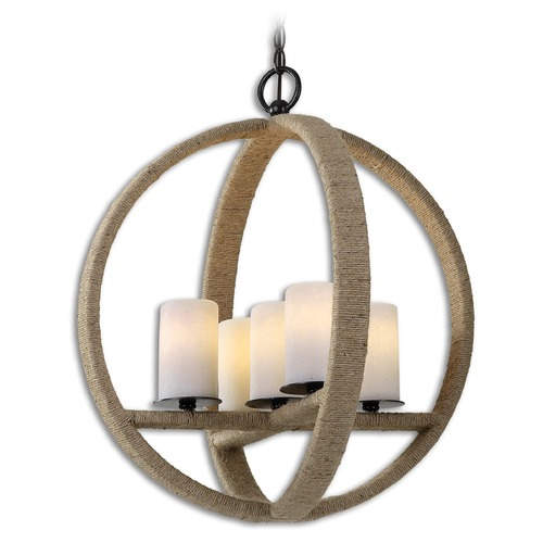 Uttermost Lighting Uttermost Gironico Round 5 Light Pendant 21997