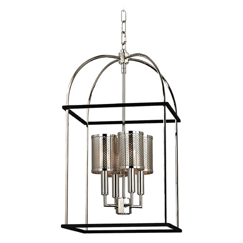 Hudson Valley Lighting Hudson Valley Lighting Vestal Polished Nickel Pendant Light 4814-PN