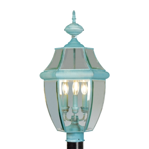 Livex Lighting Livex Lighting Monterey Verdigris Post Light 2354-06