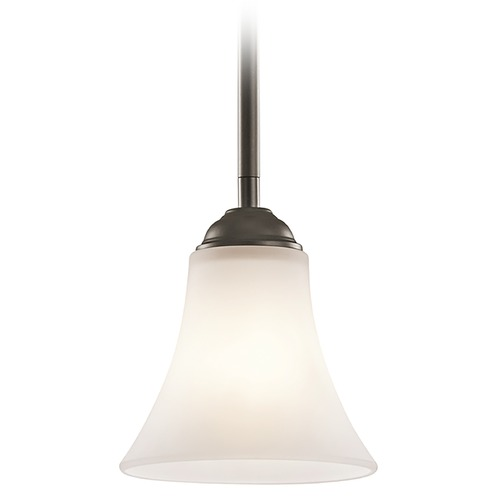 Kichler Lighting Kichler Lighting Keiran Olde Bronze Mini-Pendant Light with Bell Shade 43511OZ