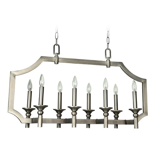 Craftmade Lighting Craftmade Lisbon Antique Nickel Island Light 37378-AN