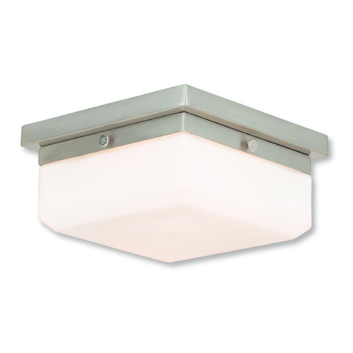 Livex Lighting Livex Lighting Allure Brushed Nickel Flushmount Light 65536-91