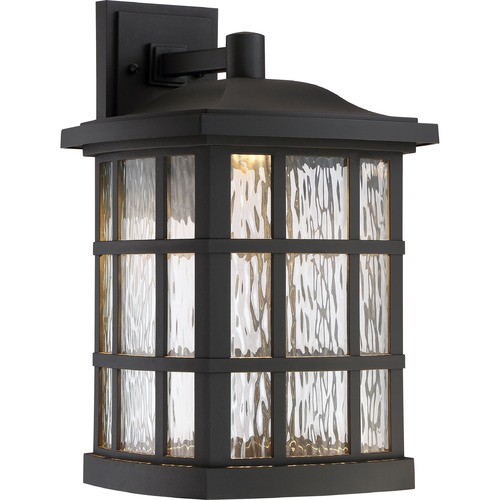 Quoizel Lighting Quoizel Lighting Stonington LED Matte Black LED Outdoor Wall Light SNNL8411K