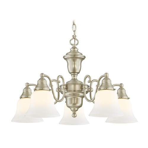 Design Classics Lighting Design Classics Holt Satin Nickel Chandelier 205-09 G9110