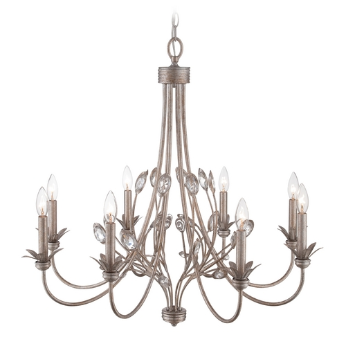 Quoizel Lighting Chandelier in Italian Fresco Finish WSY5008IF