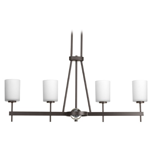 Progress Lighting Contemporary / Modern Island Light Bronze Compass by Progress Lighting P4708-20