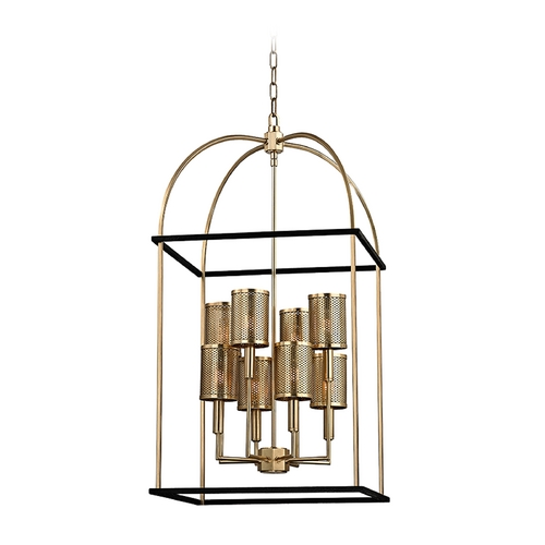Hudson Valley Lighting Hudson Valley Lighting Vestal Aged Brass Pendant Light 4819-AGB