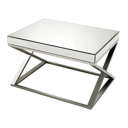 Sterling Lighting Sterling Lighting Clear / Chrome Coffee & End Table 114-41