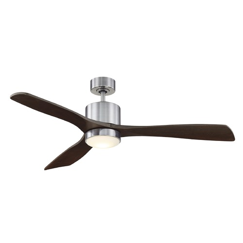 Savoy House Savoy House Lighting Amherst Brushed Pewter LED Ceiling Fan with Light 52-190-3CN-187