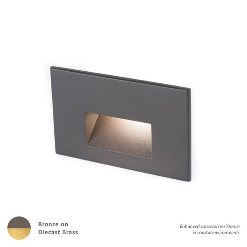 WAC Lighting LED 12V LEDme Horizontal Step and Wall Light 4011-30BBR