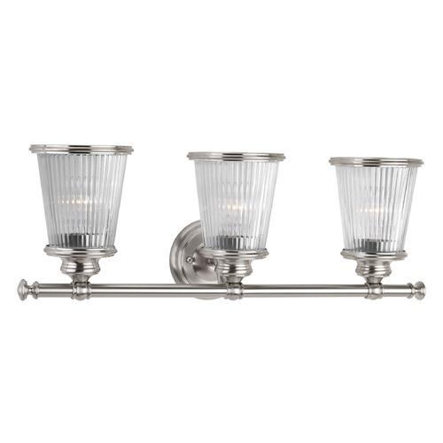 Progress Lighting Progress Lighting Radiance Brushed Nickel Bathroom Light P2171-09