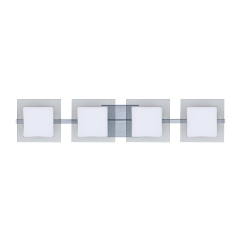 Besa Lighting Besa Lighting Alex Chrome LED Bathroom Light 4WS-773539-LED-CR