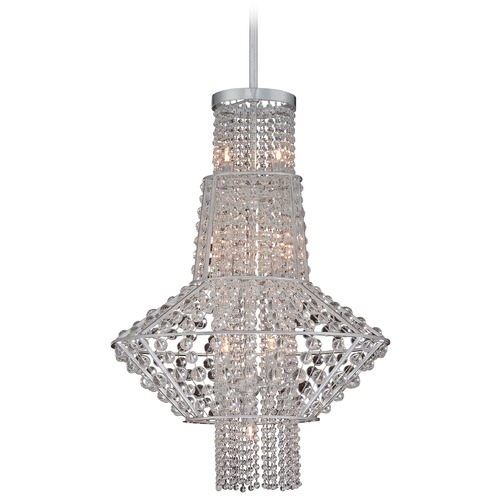 Metropolitan Lighting Metropolitan Saybrook Catalina Silver Pendant Light N7307-598
