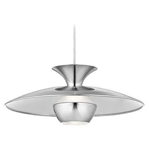 Elan Lighting Elan Lighting Scope Chrome LED Pendant Light 83855