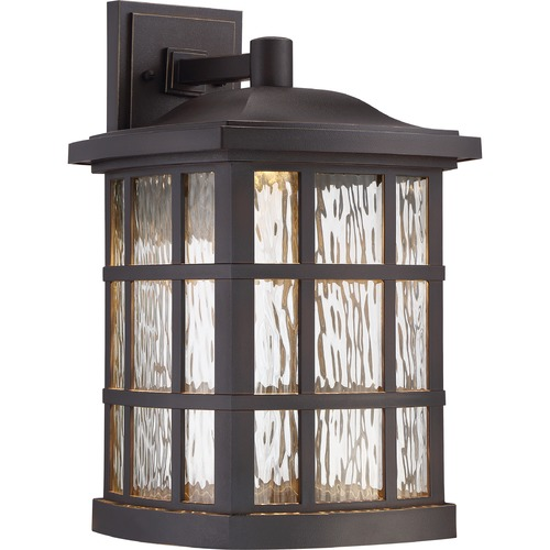 Quoizel Lighting Quoizel Lighting Stonington LED Palladian Bronze LED Outdoor Wall Light SNNL8411PN