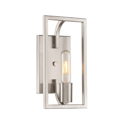 Designers Fountain Lighting Designers Fountain Uptown Satin Platinum Sconce 88401-SP