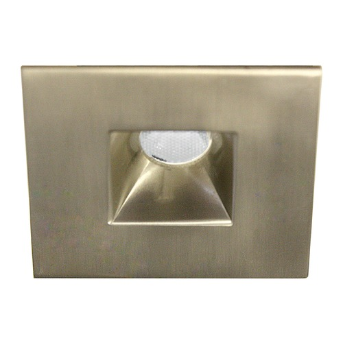 WAC Lighting WAC Lighting Ledme Miniature Recessed Brushed Nickel LED Recessed Trim HR-LED271R-30-BN