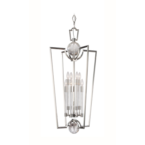 Hudson Valley Lighting Modern Pendant Light in Polished Nickel Finish 3022-PN