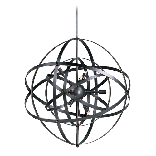 Maxim Lighting Maxim Lighting Sputnik Bronze Rupert Pendant Light 25130BR