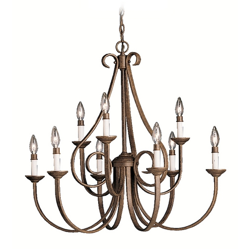 Kichler Lighting Kichler Chandelier in Tannery Bronze Finish 2031TZ