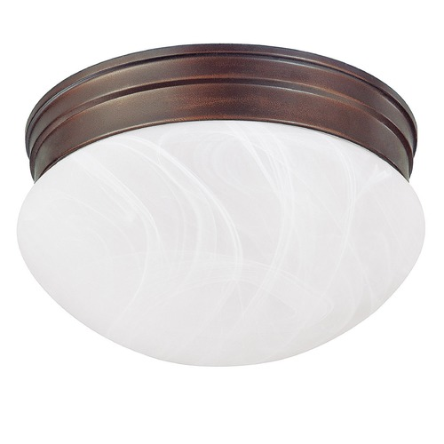 Capital Lighting Capital Lighting Burnished Bronze Flushmount Light 5678BB