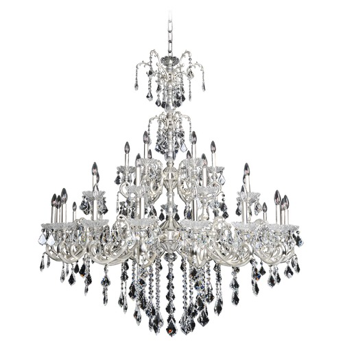 Allegri Lighting Praetorius 33 Light Crystal Chandelier w/ French Gold 24k 023150-011-FR001