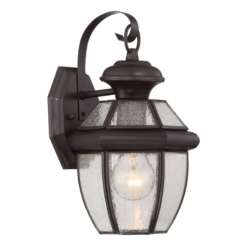 Quoizel Lighting Quoizel Newbury Medici Bronze Outdoor Wall Light NY8407ZFL