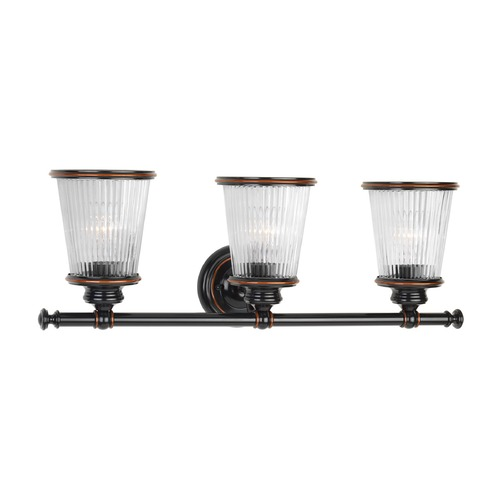 Progress Lighting Progress Lighting Radiance Rubbed Bronze Bathroom Light P2171-139