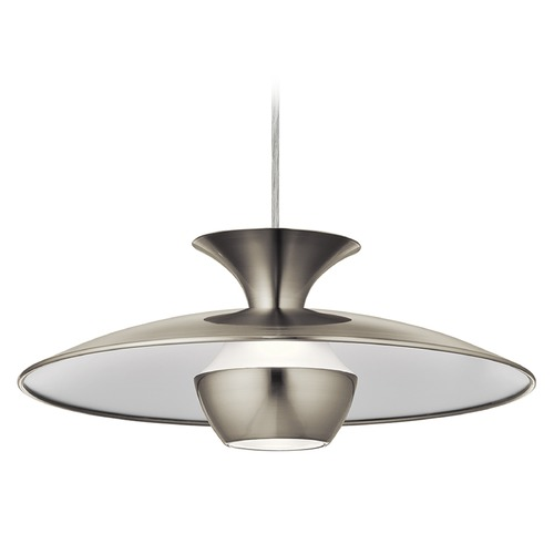 Elan Lighting Elan Lighting Scope Brushed Nickel LED Pendant Light 83856