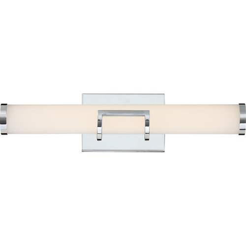Quoizel Lighting Quoizel Lighting Platinum Baton Polished Chrome LED Bathroom Light PCBT8520C