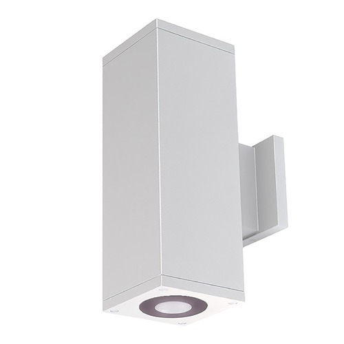 WAC Lighting Wac Lighting Cube Arch White LED Outdoor Wall Light DC-WD05-U830B-WT