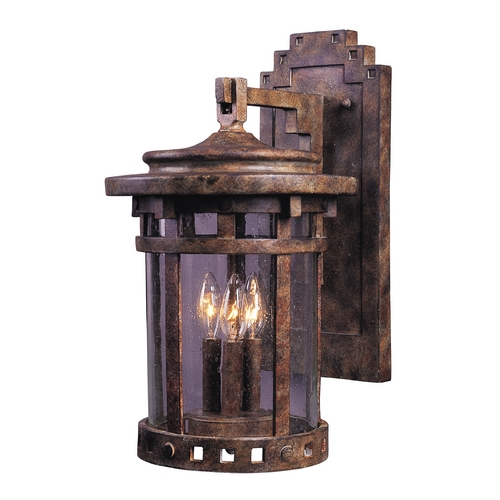Maxim Lighting Maxim Lighting Santa Barbara Vx Sienna Outdoor Wall Light 40034CDSE
